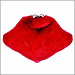 Living Puppets kissing pillow red